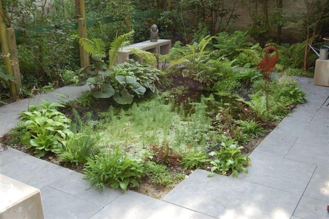 Diverse grote en kleine tuinen for Aanleg kleine tuin